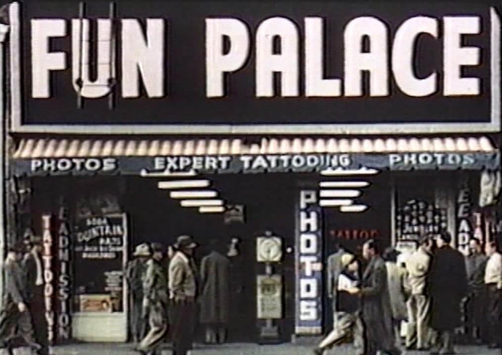 Of Scrap & Steel:  1949 color film on Main Street
