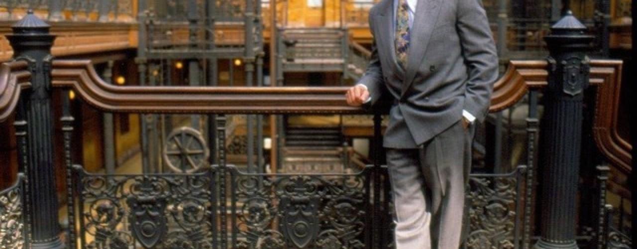 Bradbury Building Elevator Down