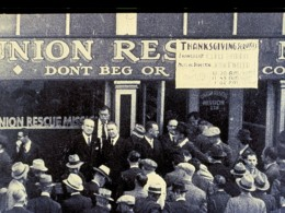 Union Rescue Mission Walking Tour: 124 years on Skid Row