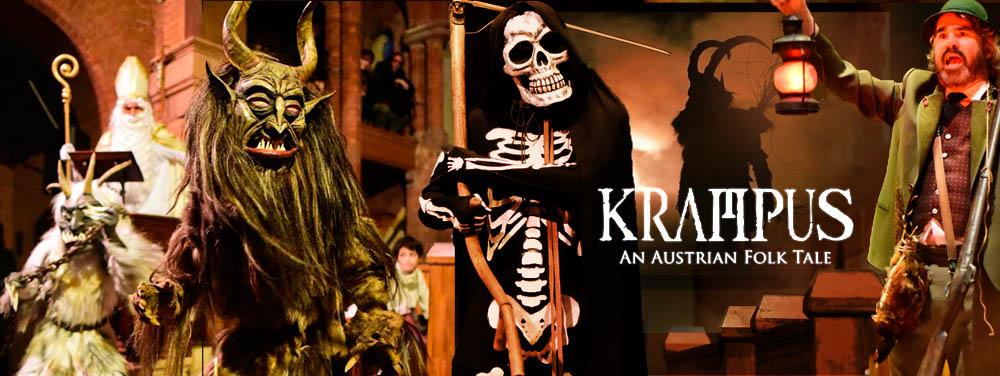 Traditional Krampus Play and Krampus Films (early show)