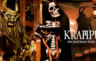 Traditional Krampus Play and Films (late show)